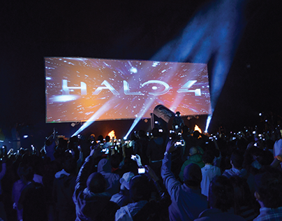 Halo 4 Launch Colombia