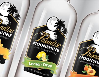 Paradise Moonshine - Branding