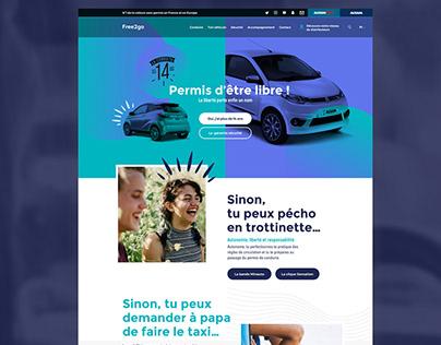 Web creative direction / UXUI - @JETPULP digital agency
