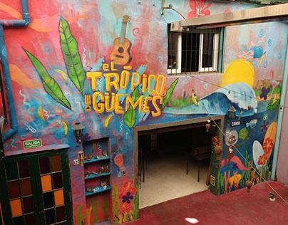 Mural en Dont Worry Güemes