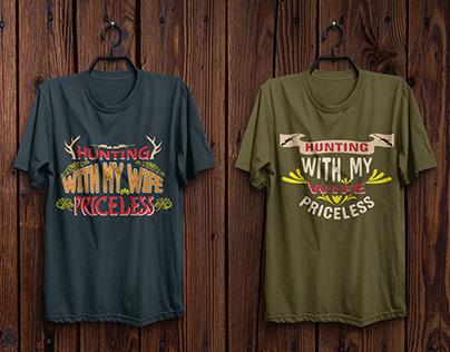 Hunting T-Shirt Design