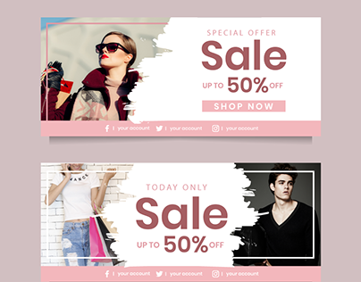 Sale Banner Ad