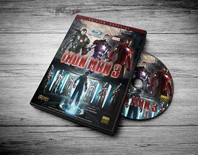 IRONMAN │ Cover DVD + Case
