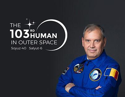 Logo The 103rd Human In Outer Space - Dorin Prunariu