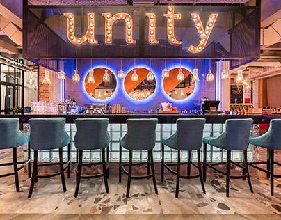 """Completed restaurant project """"Unity"""""""
