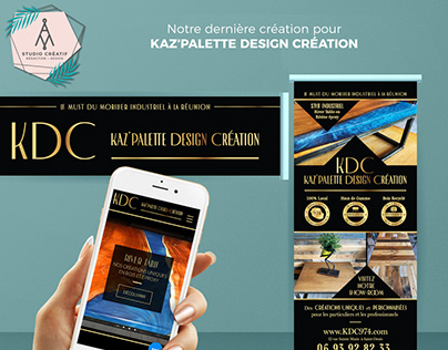 Re-branding, graphic design and website creation