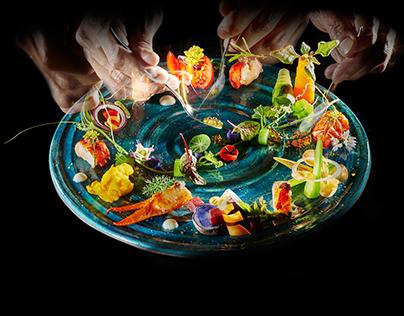 Chef Giuseppe Iannotti - Kresios 1* Michelin restaurant