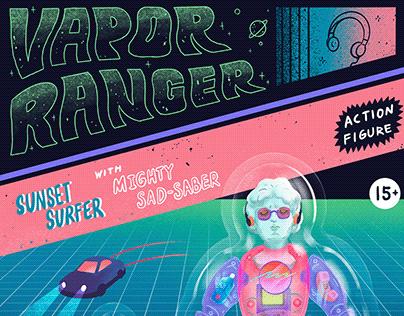 Vapor Ranger | 玩具, 插畫, 設計