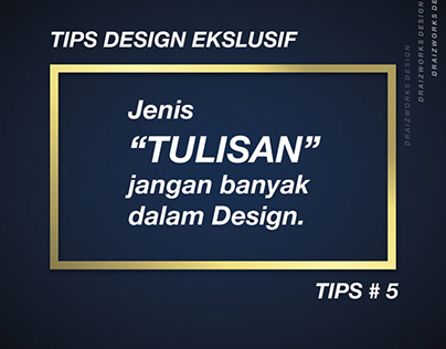 Poster tips