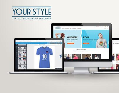 Your Style Utrecht - Webshop / Ecommerce
