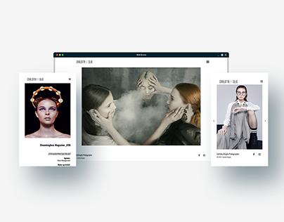 Fashion Photographer Portfolio Website