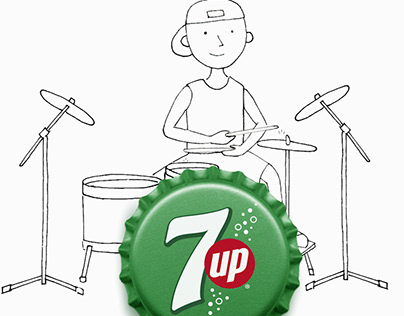 7UP - Social animations