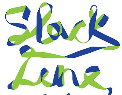 Slackline is Fine - T-Shirt Grafic Design
