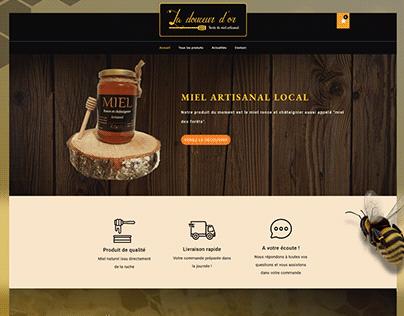 La Douceur d'Or - Landing Page