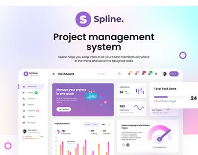 Spline Project management dashboard