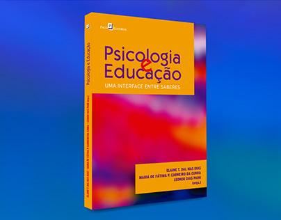 """Capa do livro """"Psicologia e Educação"""""""