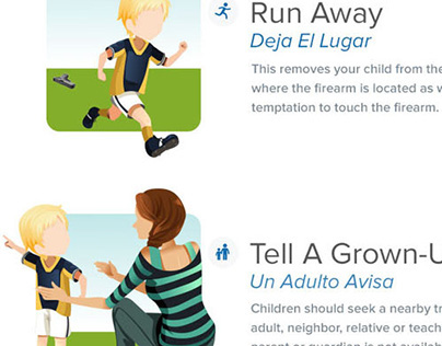 Infographic: What To Do if Your Child Finds a Gun