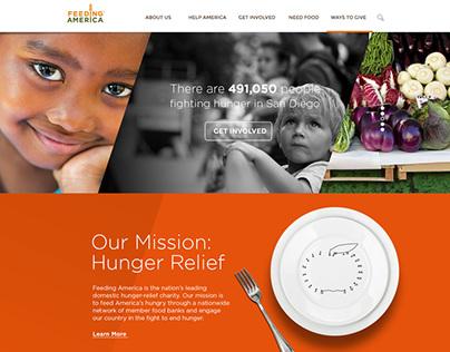 Feeding America Redesign