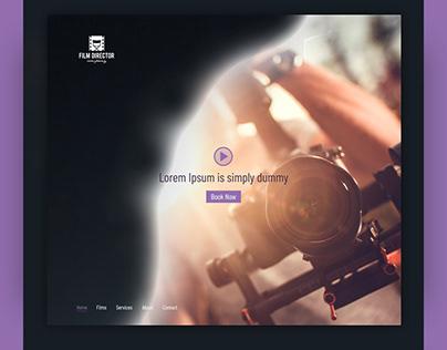 Film Director - Website Design