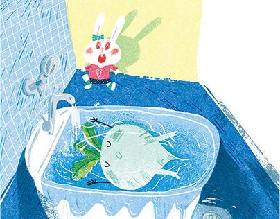 儿童侦探小说插图 Illustration of children's detective stories