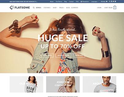 Wordpress - (Woocommerce | Woocommerce | flatsome)