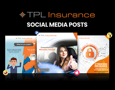 TPL Insurance Social Media Posts