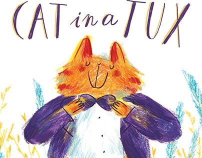 Cat in a Tux