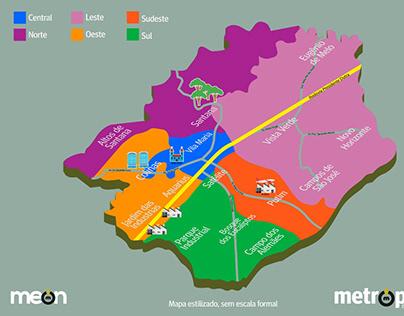 Mapas Personalizados - Meon Comunicação