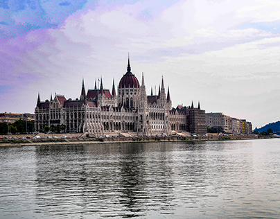 The Parliament of Budapest. Different points of view
