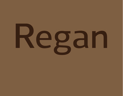 Regan - Type Family