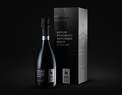 Tenuta Amadio branding - 'Label of the year 2016'