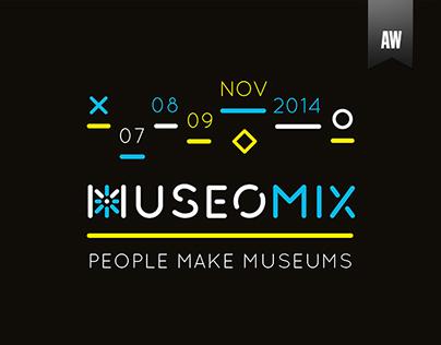 Museomix 2014 - Poster design