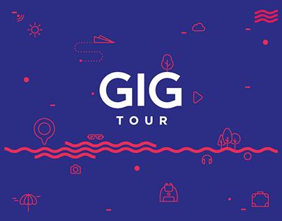 GIG Tour Rebranding
