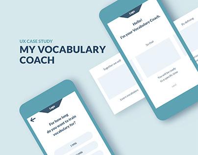 UX Case Study »My Vocabulary Coach«