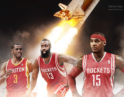 Houston Rockets with Harden, CP3, and Melo