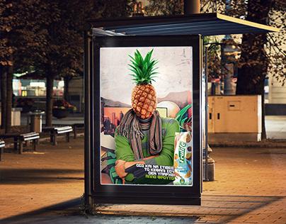 Frulite Print Ads