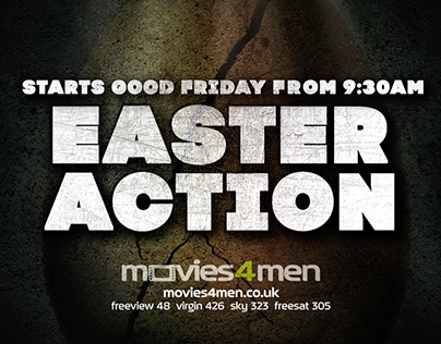 Easter Action - Movies 4 Men