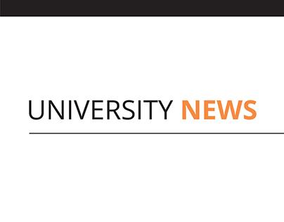 University News Redesign