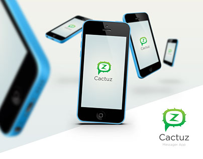 Cactuz - Messaging App - Process 1