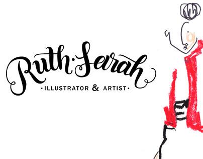 Ruth-Sarah Illustrator & Artist | Logo & Lettering