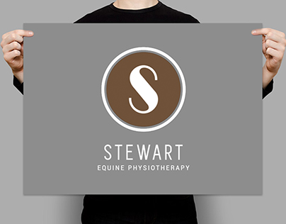 Stewart Equine Physiotherapy Logo Design