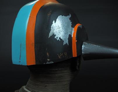Vacuum Formed Helmet