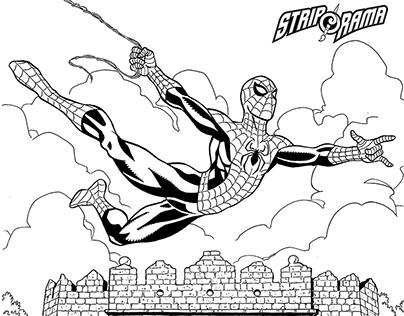 Spider-man visits Serbia! :D