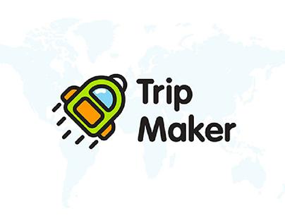 Trip Maker Logotype