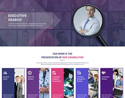 Consultant Solutions Web Design