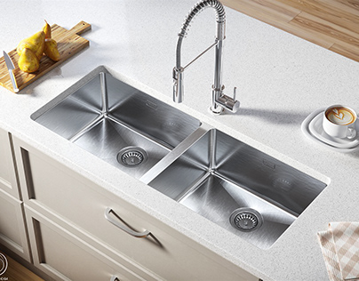 Renderings for sink catalogues