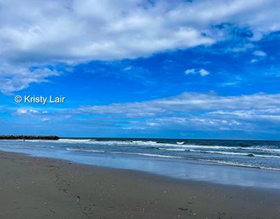 Beach scenery in AC