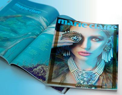 Marie Claire Magazine | Redesign