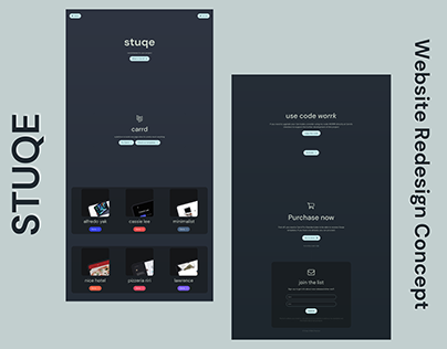 Stooq - Product Website Redesign Concept