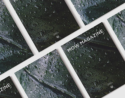 Mow Magazine / Art direction